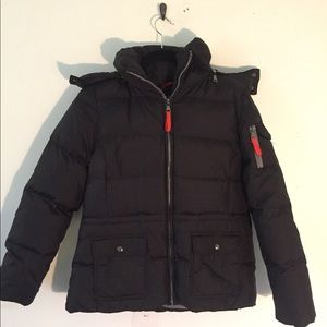 Marc Puffer Jacket with Hood